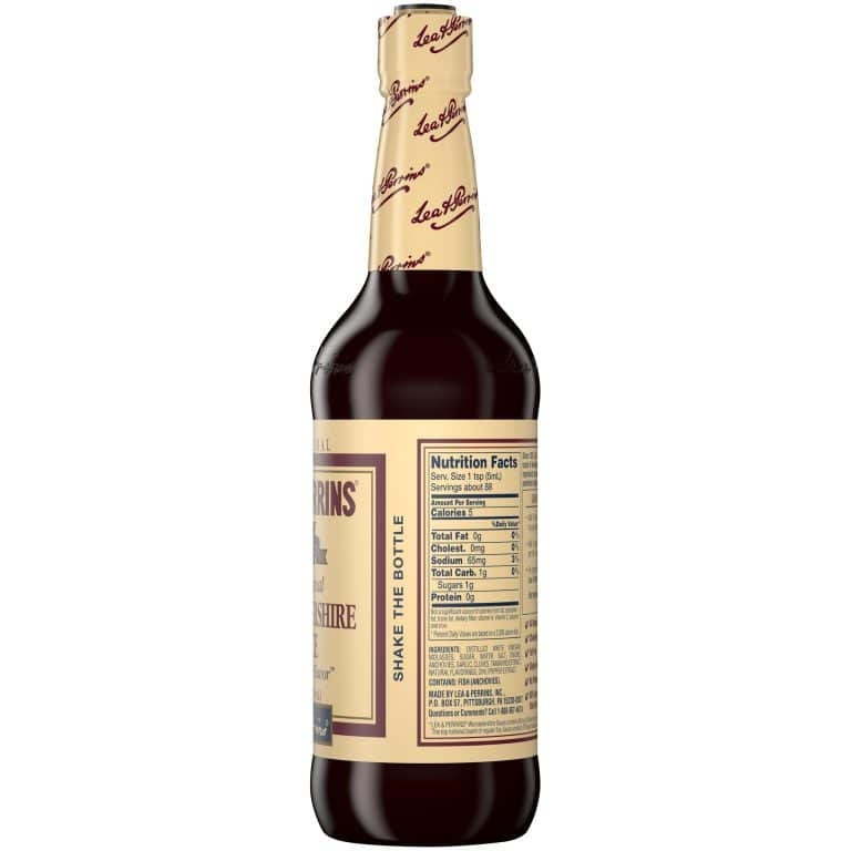 What is Worcestershire sauce made of?